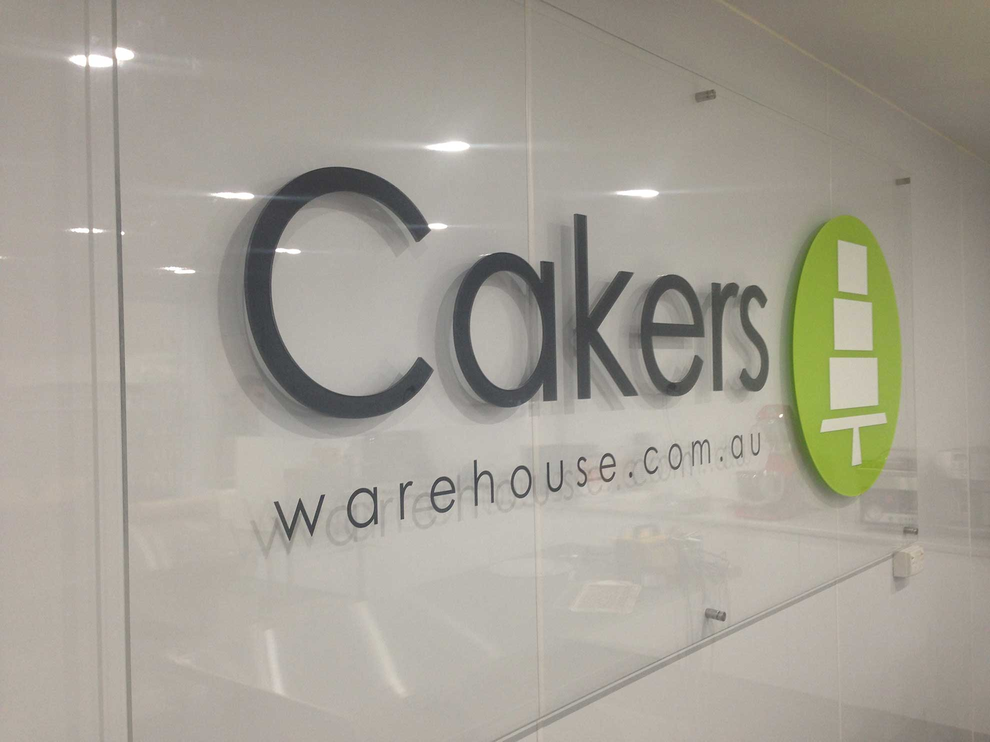 Cakers - Broadcasting Signs Wollongong