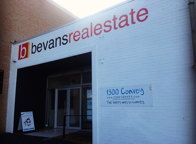 bevans real estate broadcasting signs wollongong